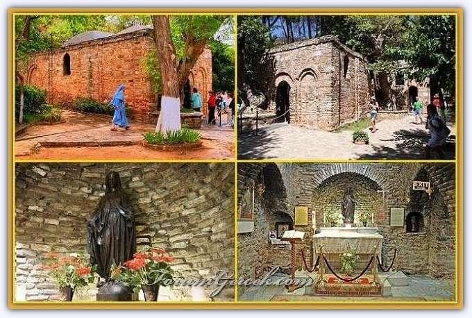 Meryem Ana Mezari Anası Meryem Ana'nın Evi