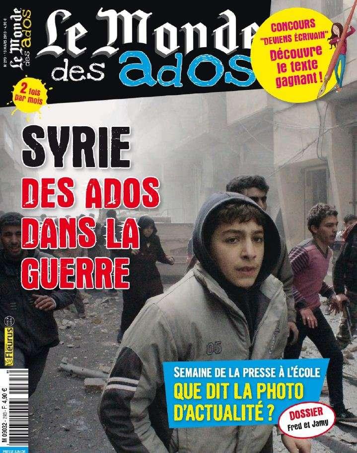 Le Monde des Ados N°293 du 13 au 26 Mars 2013