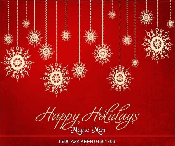 Happy Holidays from Magic Man