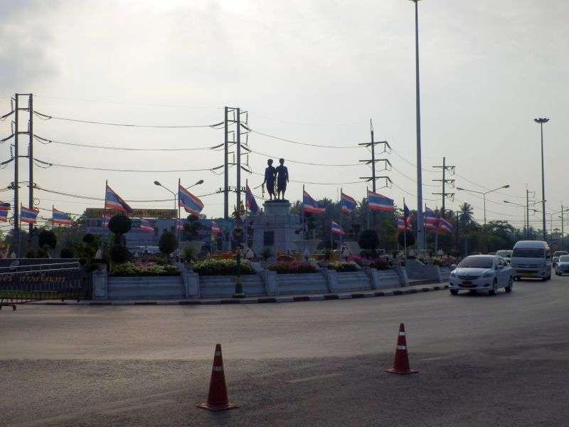 der Kreisverkehr in Phuket