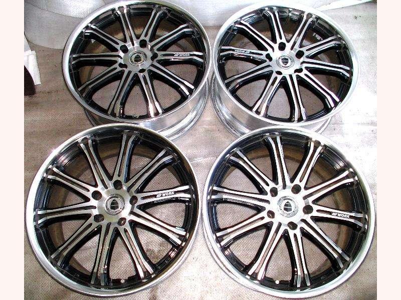 WORK SCHWERT SW1 alloy wheels rims 19 8.5J 5x120 BMW LEXUS M5 M3