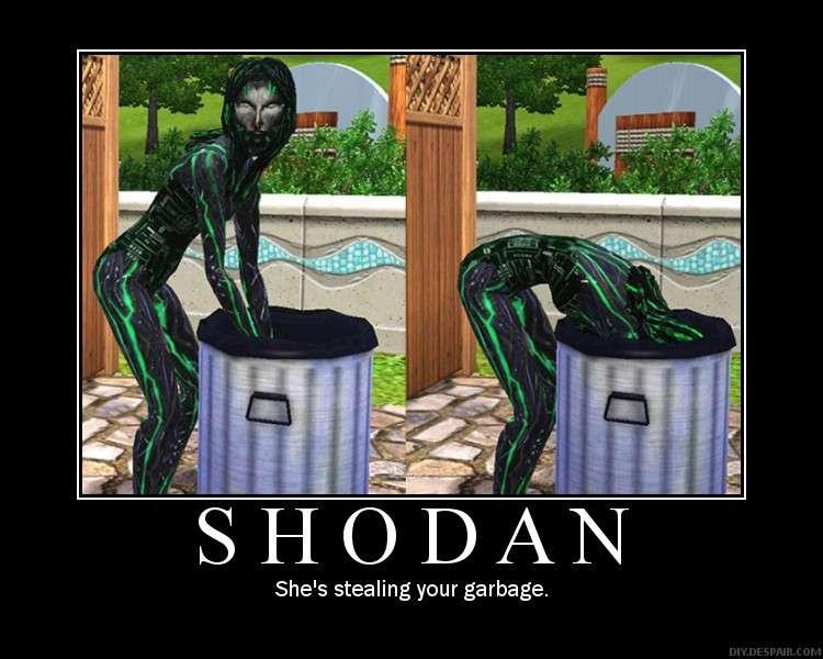 Shodan invades the Sims